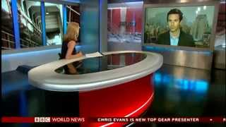 BBC World News America - Gabriel London DeFriest film interview by Katty Kay