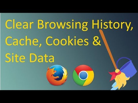 Clear Browsing History, Cache, Cookies & Site Data - Firefox & Chrome (2018) | PCGUIDE4U