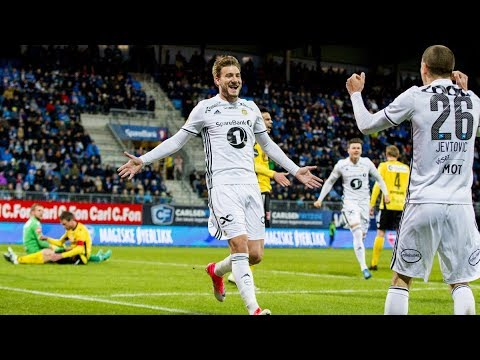 All Nicklas Bendtner goals for Rosenborg so far (21-08-2017)