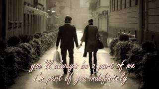 ALWAYS BE MY BABY BY DAVID COOK WITH LYRICS