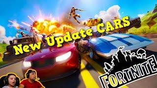Fortnite NEW update Cars