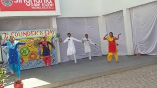 lamborghini peg pugg punjabi dance singhaniya school sikar