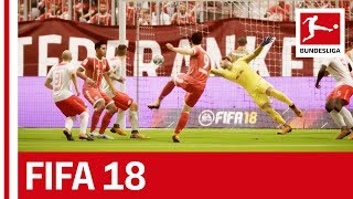 FC Bayern München vs. RB Leipzig - FIFA 18 Prediction with EA Sports