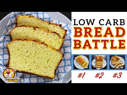 The BEST Low Carb Bread Recipe EPIC BREAD BATTLE Testing 3 Keto Bread Recipes