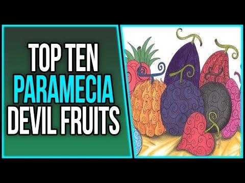 Ranking the Top 10 Paramecia Devil Fruits | ワンピース