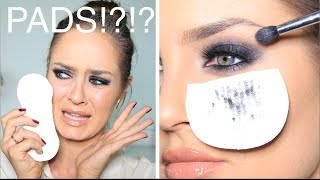 Crazy Makeup Hack: USING SANITARY PADS & PANTY LINERS
