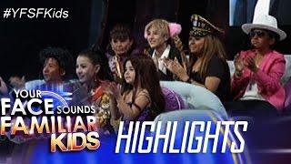 Your Face Sounds Familiar Kids: Kid Performers, nakilala na ang kanilang mga gagayahin sa