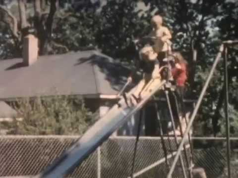 Home Movie Clip of Beacon Hill Park in 1958