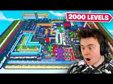 attempting the 2000 LEVEL DEATHRUN (bad idea)