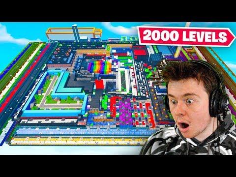 attempting the 2000 LEVEL DEATHRUN (bad idea)
