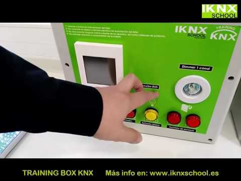 Training Box KNX. Maletas de entrenamiento en sistemas KNX.