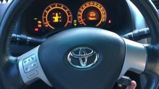 видео Как установить круиз контроль на Тойоту Короллу?