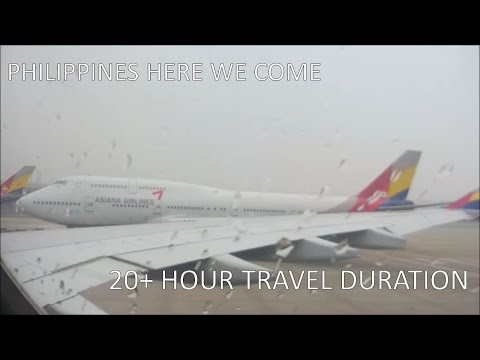 Flying Asiana Airlines to Philippines