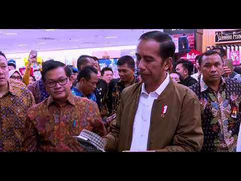 Hebohnya Palembang Trade Center Kedatangan Jokowi