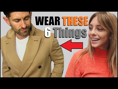 6 SEXIEST Things A Guy Can Wear! (According To Women)