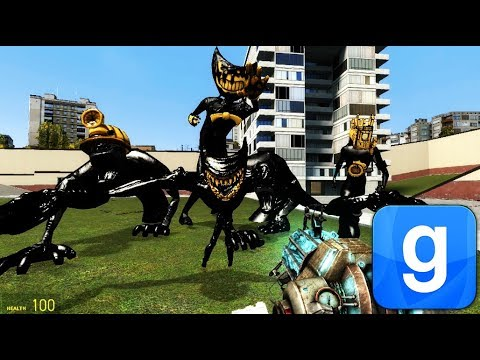 New Beast Bendy In Garry's Mod! Bendy and the Ink Machine Chapter 5 thumbnail