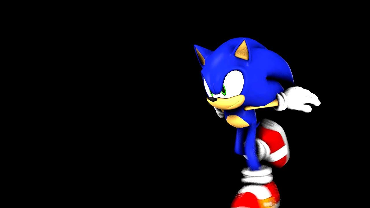 Sonic Sfm Animation Modern Sonic Running Animation Test Youtube