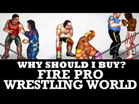 Why buy Fire Pro Wrestling World on Steam?