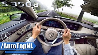 Mercedes Benz S Class 2018 S350d POV Test Drive by AutoTopNL
