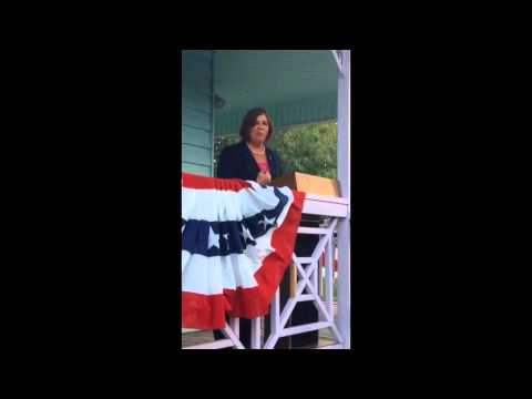 April Freeman Election Speech