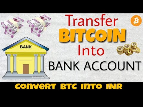 How To Transfer Money From Blockchain To Bank Account - Convert BTC Into INR