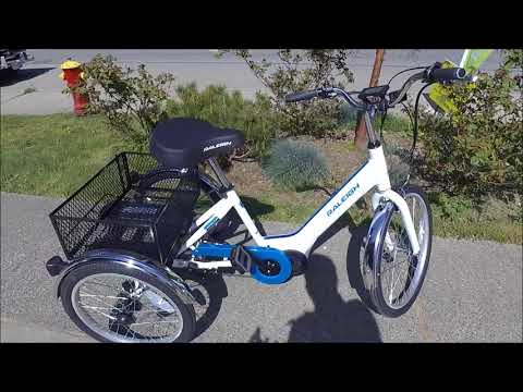 Raleigh Tristar IE Pedal Assist Electric Trike Review and Ride Test