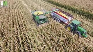 John Deere S 660i - John Deere S 770i - Corn harvesting/Trebbiatura Mais 2018