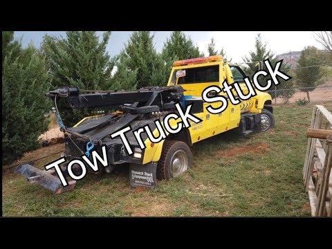 My 12 Ton Wrecker Is Stuck!!!