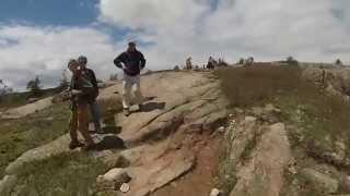 Acadia National Park , Penobscot Mountain Trail, GoPro POV