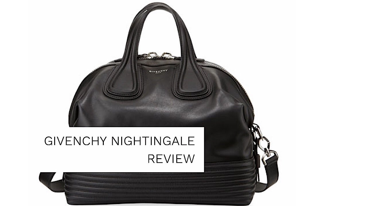 d5ddc4a28b8 GIVENCHY NIGHTINGALE BIKER REVIEW l Givenchy Nightingale vs Antigona  Comparison