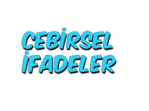 8dk'da 8.sınıf CEBIRSEL İFADELER