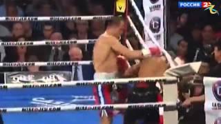 Бокс.Ковалев забивает Паскаля