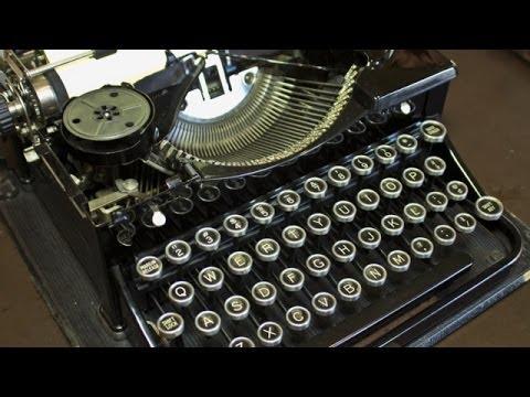 The Typewriter (In the 21st Century) (Trailer)