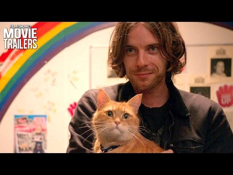 Sometimes it takes nine lives to save one!   A Street Cat Named Bob Trailer [HD]