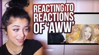 "REACTING TO YOUR ""AWW"" REACTIONS"