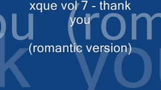 xque vol 7 - thank you (romantic version)