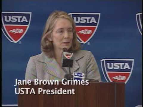 USTA Indoor Tennis Center Debut  - Jane Brown Grimes