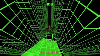 Slope Game - High Score Over 130! Hard Run!