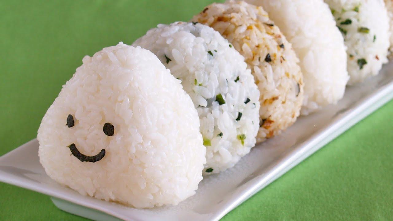 How to Make Onigiri (Japanese Rice Balls Recipe)  OCHIKERON  Create Eat  Happy :)