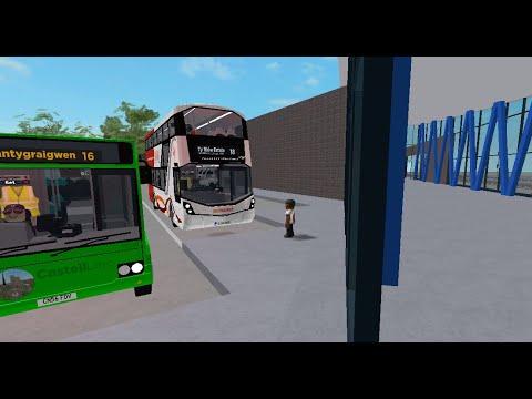 V4 Update Route 18 Ammanford Bus Simulator V4 Roblox Youtube