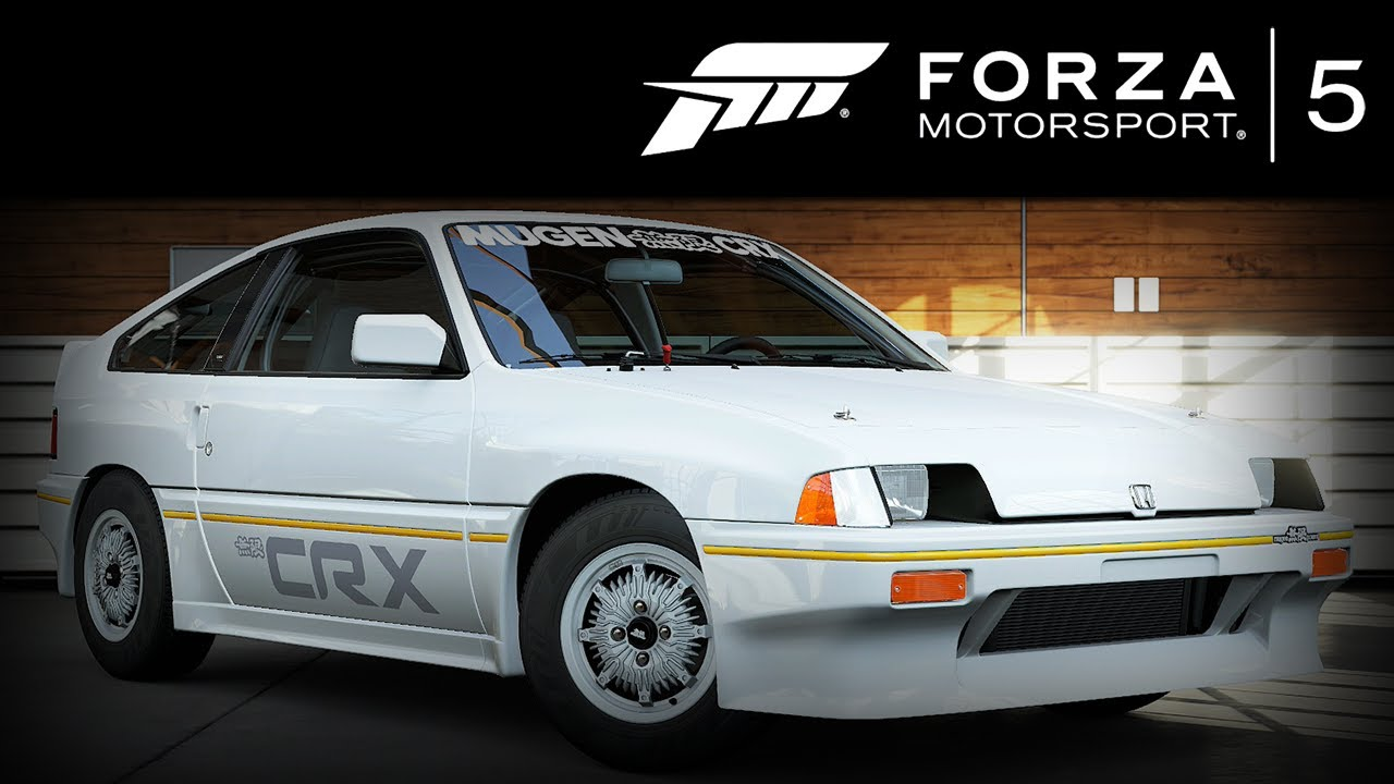 Forza 5 Honda Civic Crx Mugen 1984 Forzavista 1 Lap Youtube