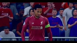 Liverpool vs Tottenham Sampiyonlar ligi Final Maci FIFA19  PS4 Pro 4K