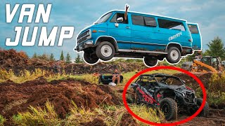 Jumping My Friends Van Over Can Am X3