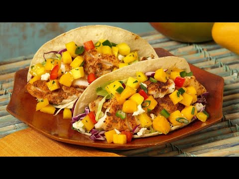 THE BEST PINEAPPLE SALSA TACO RECIPE! Make it with fish, chicken pork or beef! #chefandmore #tacos