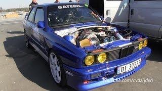 1100HP BMW M3 E30 with Toyota Supra Engine!!