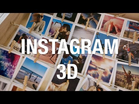 Marco de fotos ♥ Instagram en 3D | Superholly - YouTube