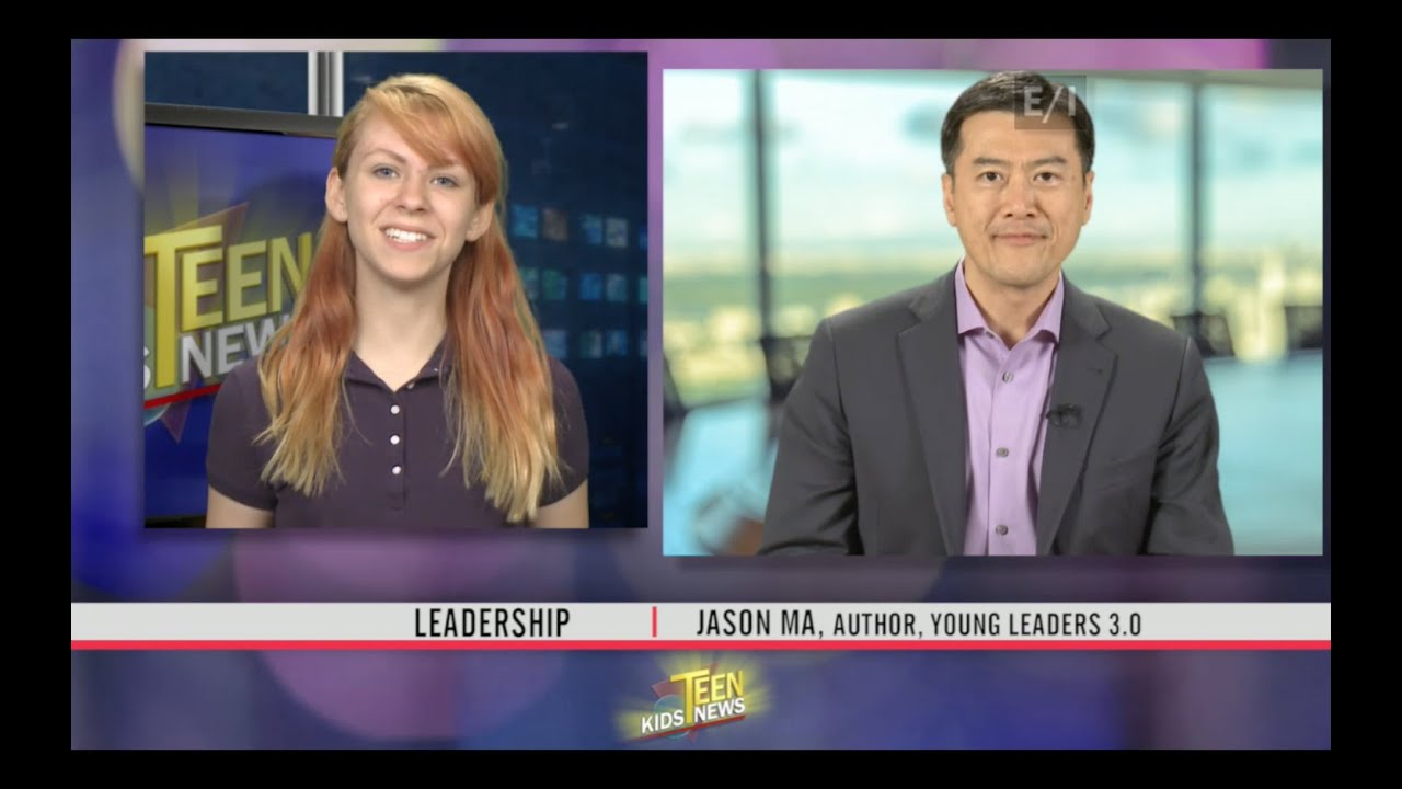 Teen Kids News Features Jason Ma on Leadership - YouTube