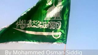 Islamic Flag - La Ilaha IllAllah Muhammad-Ur-RasulAllah - Jashn e Milad un Nabi Mubarak