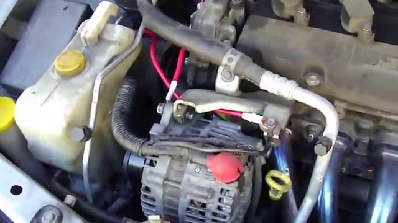 pFb Grounding Kit on a 2004 Sentra Se R Spec V (opt 2)  YouTube
