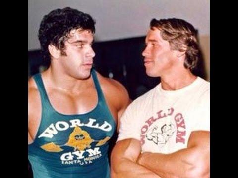 Pumping Iron Arnold Schwarzenegger vs. Lou Ferrigno ,,HULK´´